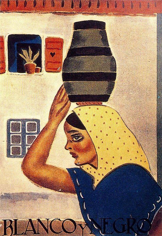 Артуро Соуто. Женщине в желтом платке