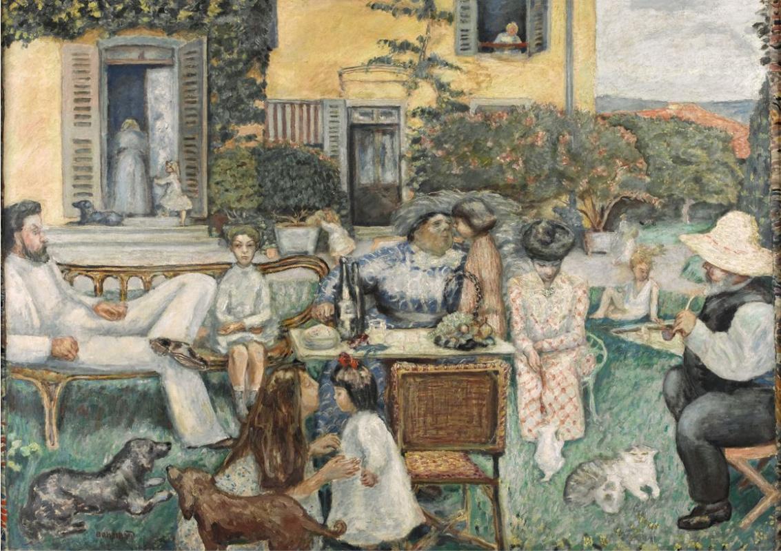 Пьер Боннар. Мещанский полдень, или Семья на террасе