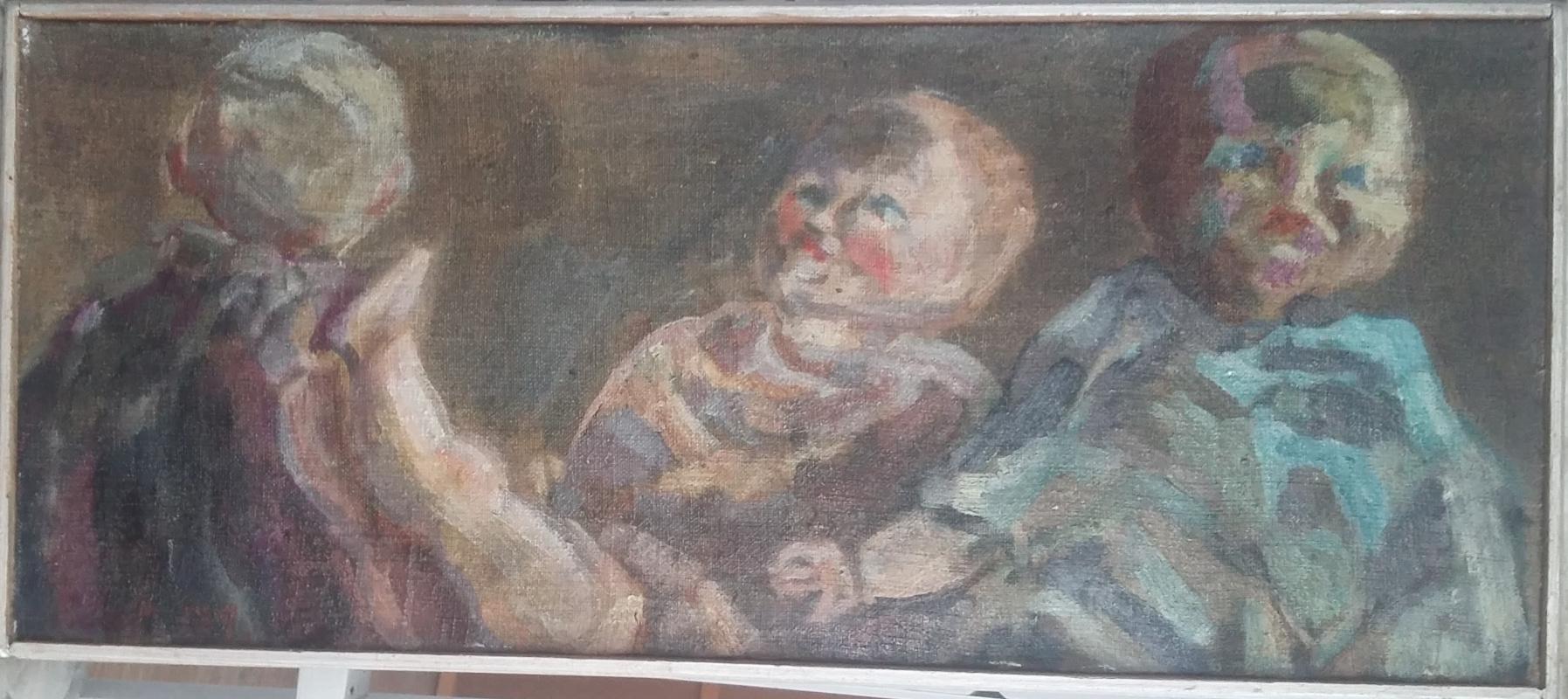 Igor Vasilyevich Ivanov. Three dolls