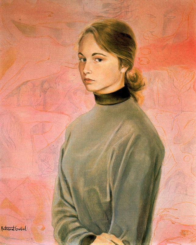 Монтсеррат Гудиол. Молодая девушка