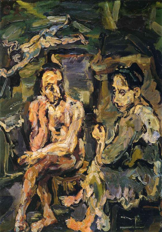 Oskar Kokoschka. Orpheus and Eurydice