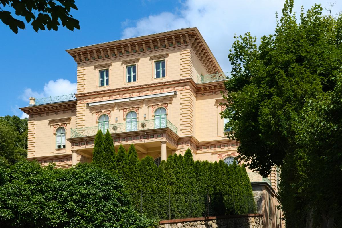Otto Koloman Wagner. Villa Rainer