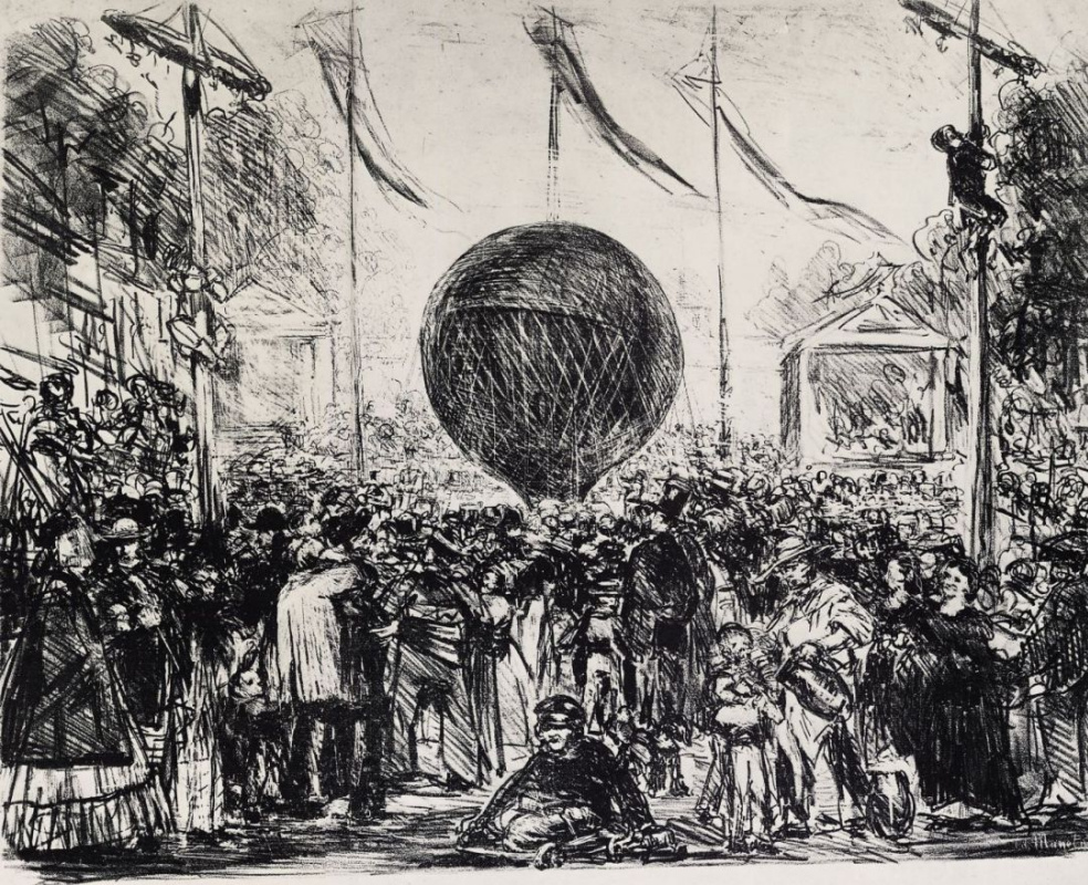 Эдуар Мане. Воздушный шар