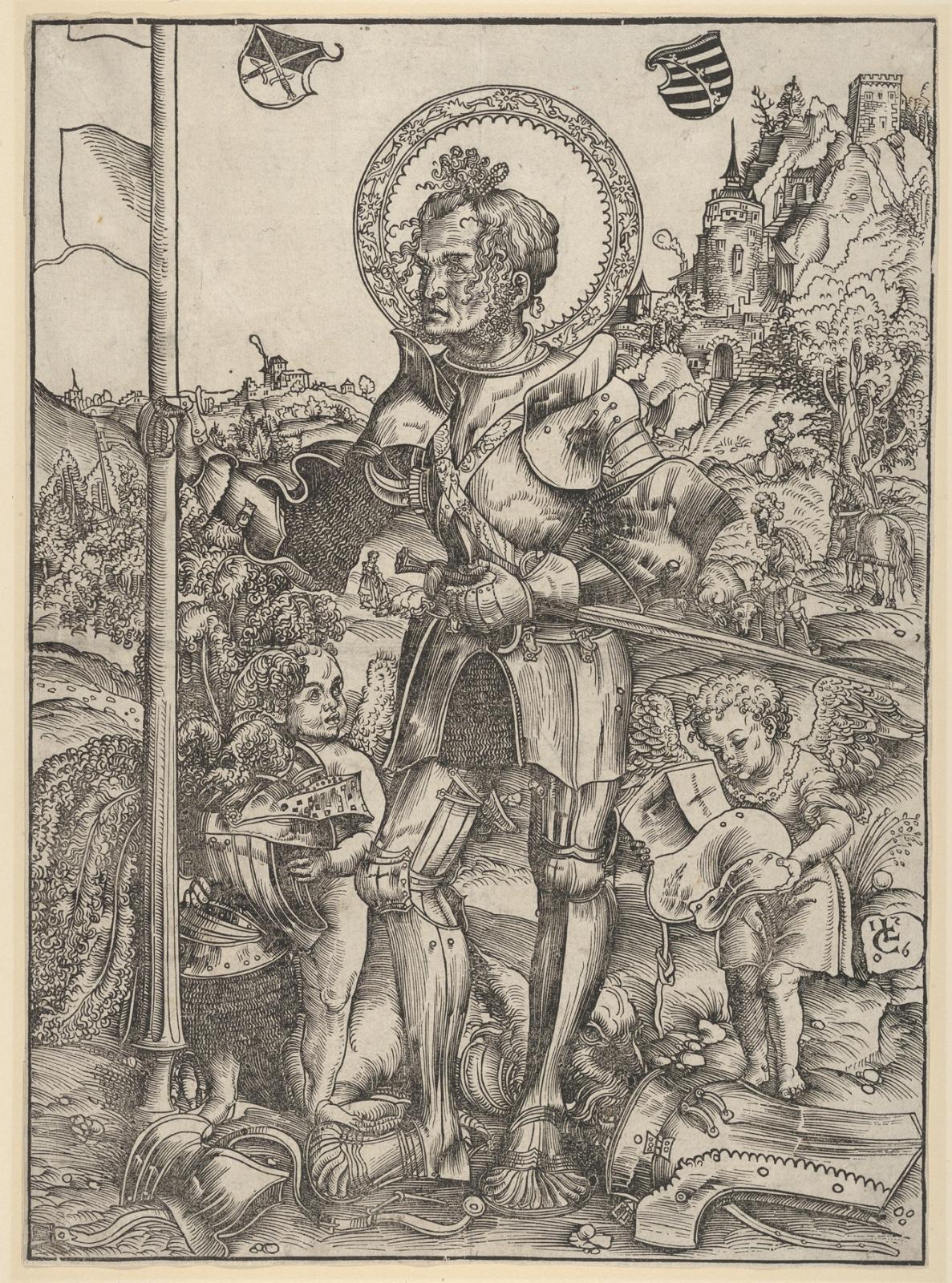 Лукас Кранах Старший. Святой Георгий