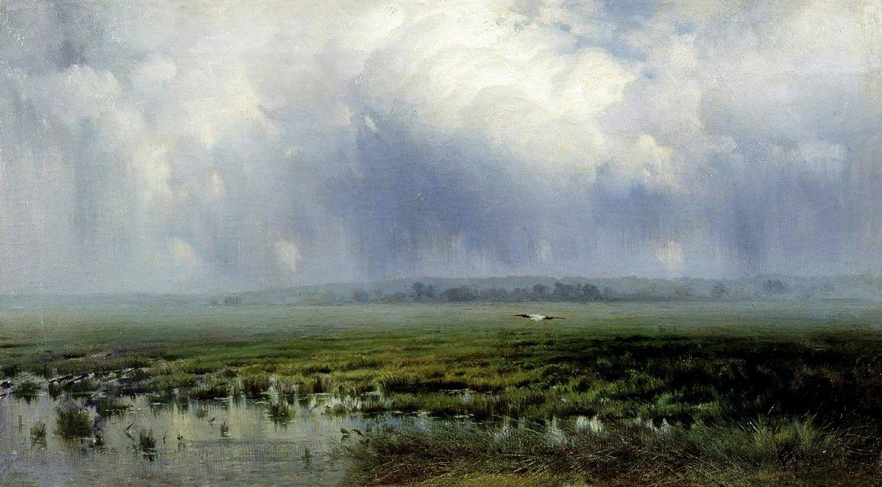 Константин Яковлевич Крыжицкий. Болото