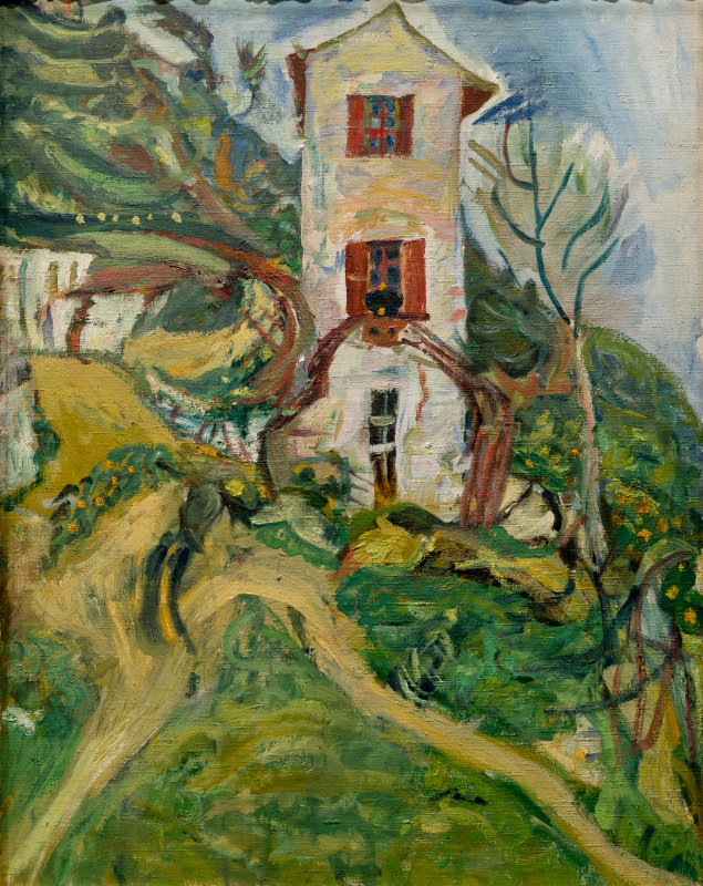 Haim Solomonovich Soutine. The white house