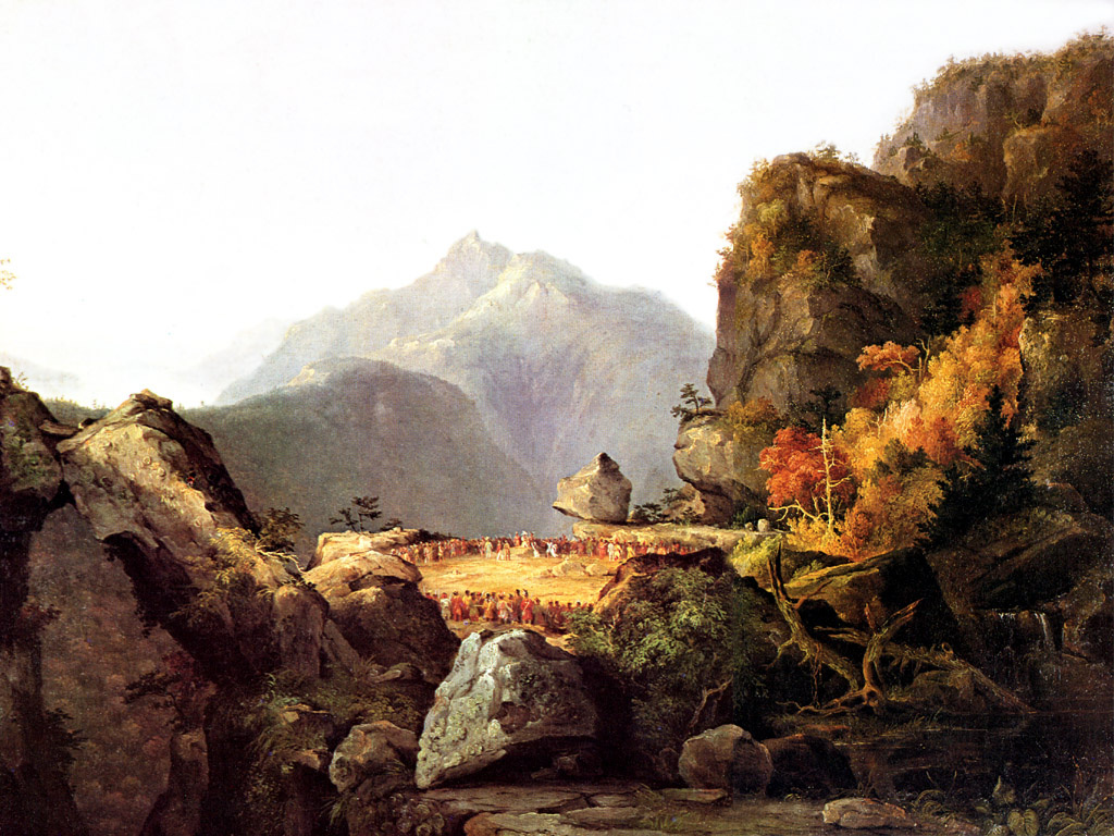 Thomas Cole. The last of the Mohicans