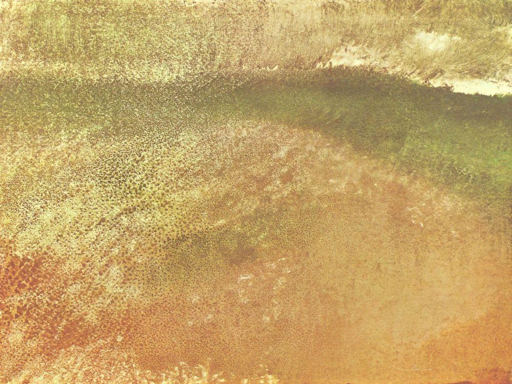 Edgar Degas. Storm in the mountains