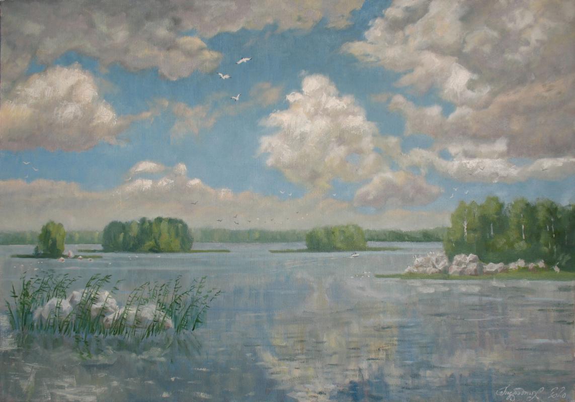 Alexander Nikolaevich Bezrodny. Lake Vuoksa