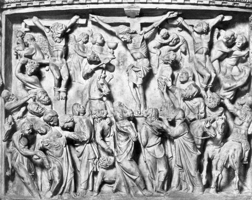 Giovanni Pisano. The Crucifixion