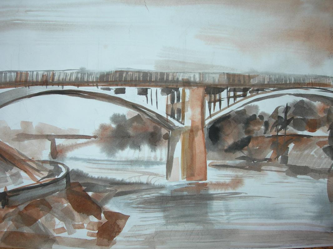 Victoria Igorevna Antipova. The bridge over the Dvina