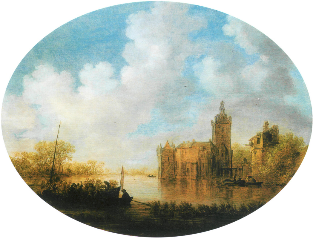 Jan van Goyen. Monforte castle