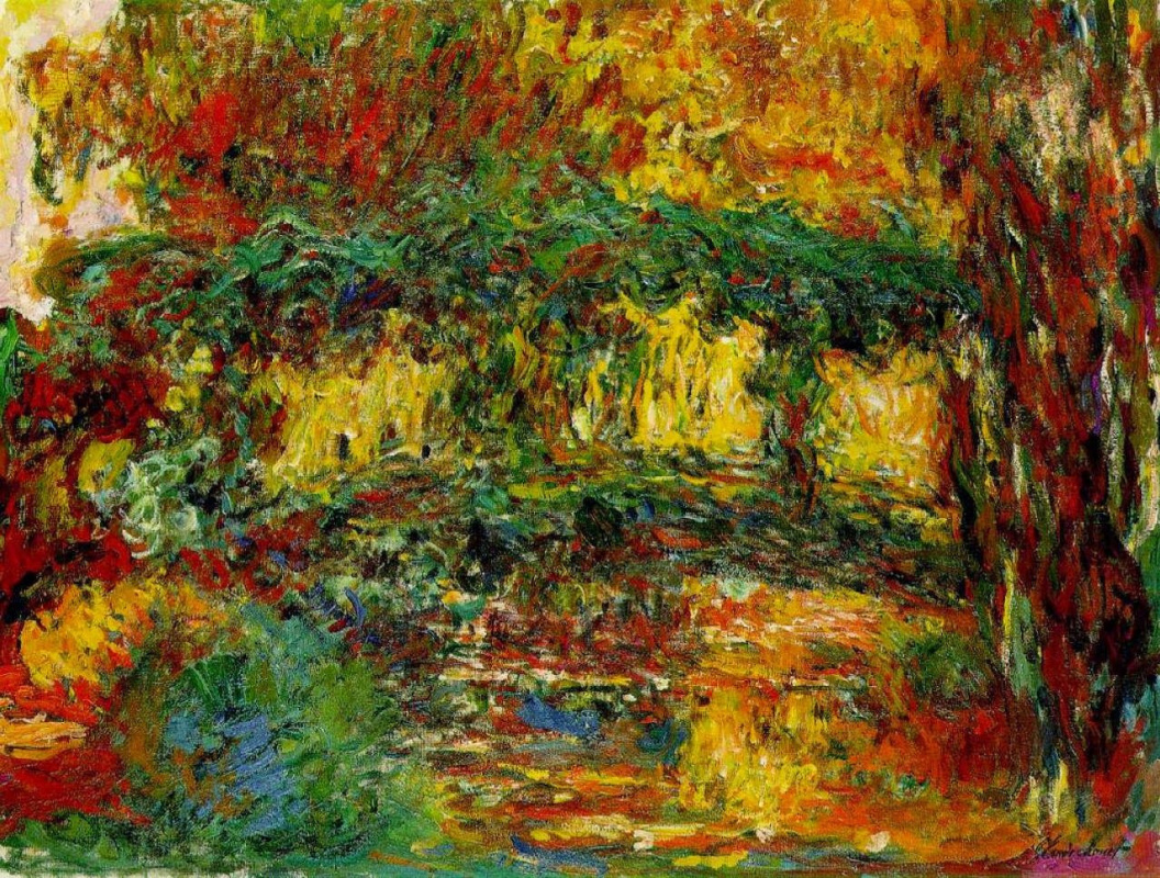 Japanese bridge by Claude Monet: History, Analysis & Facts