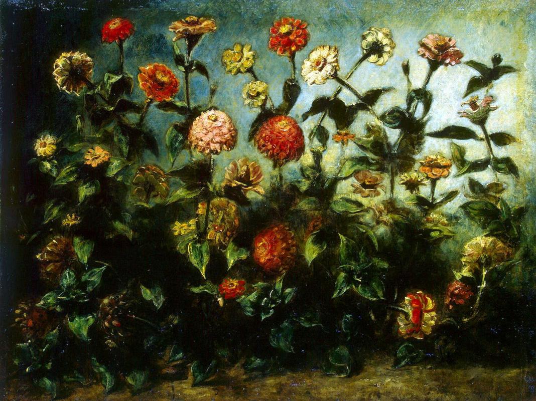 Эжен Делакруа. Цветы