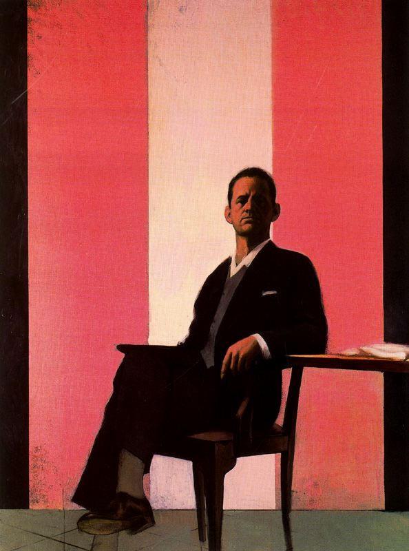 Стивен Конрой. Мужчина сидящий на стуле
