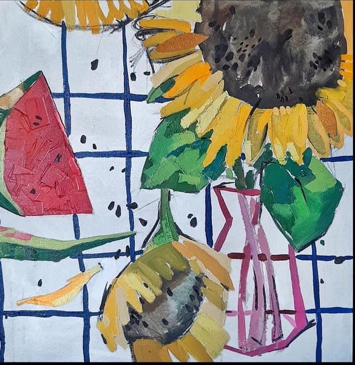 Summer day (triptych)