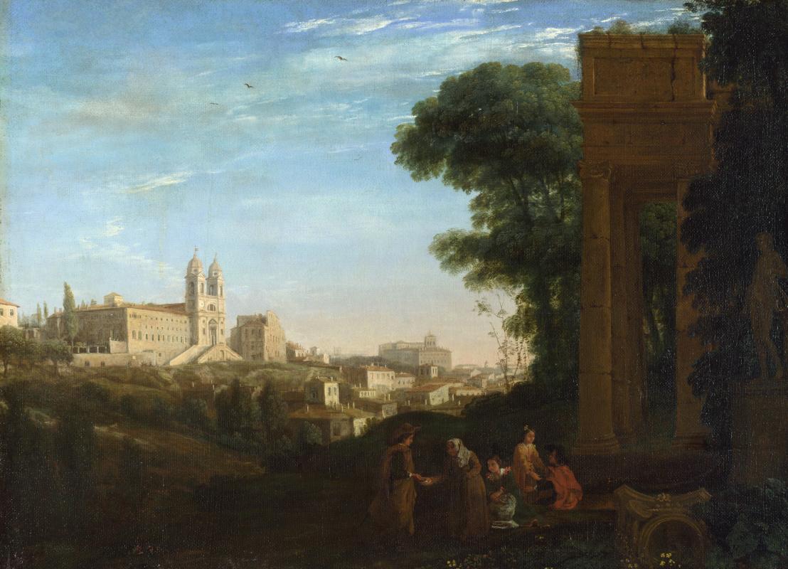 Клод. Вид в Риме
