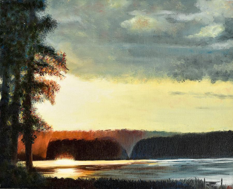 Larisa Alexandrovna Isakova. Lake Urgun