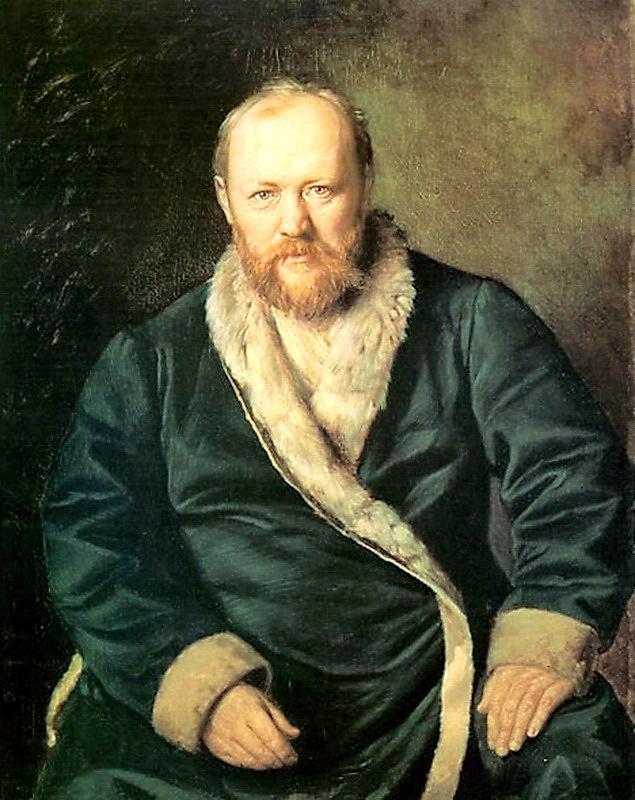 Василий Григорьевич Перов. Портрет Островского