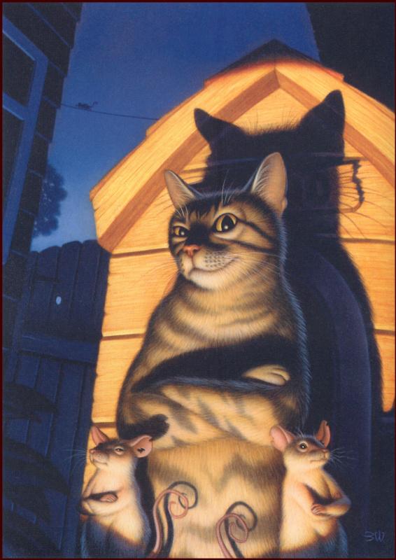 Брэд Вайнман. Кот и мыши