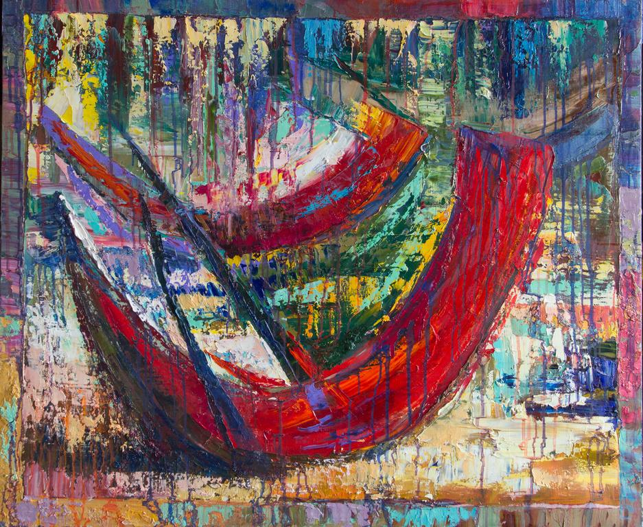 Екатерина Антропова. Красные лодки