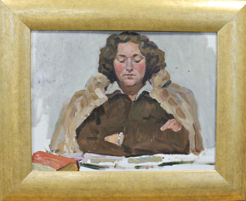Orest Georgievich Betekhtin. Portrait of the artist Shevandronov I.V.