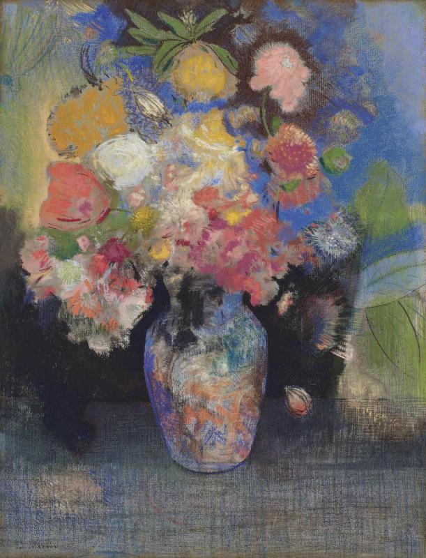 Odilon Redon. Flowers