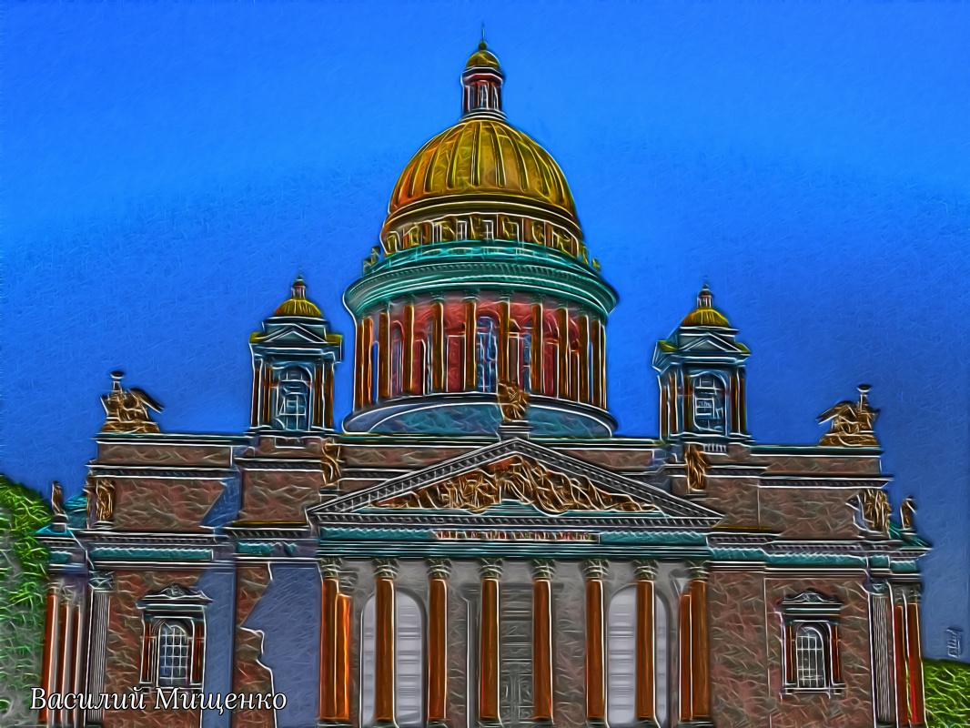 Vasiliy Mishchenko. Isaac's Cathedral 003