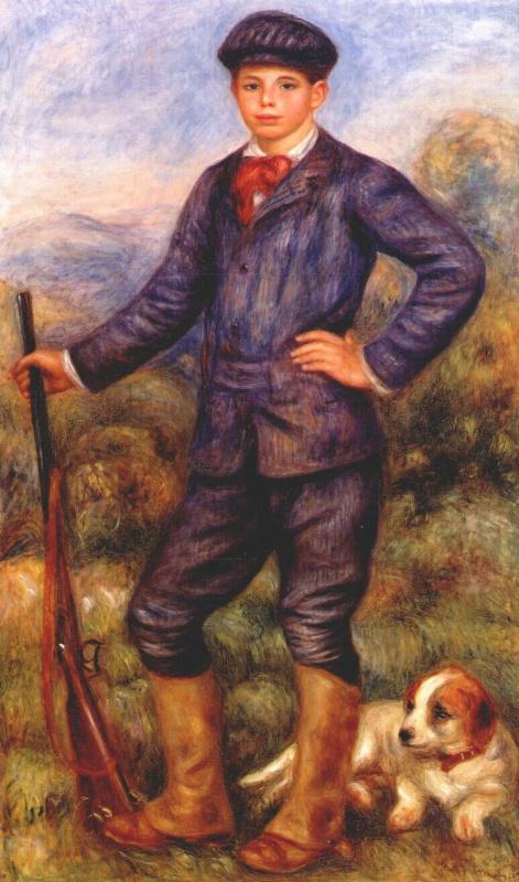 Пьер Огюст Ренуар. Жан в охотничьем костюме
