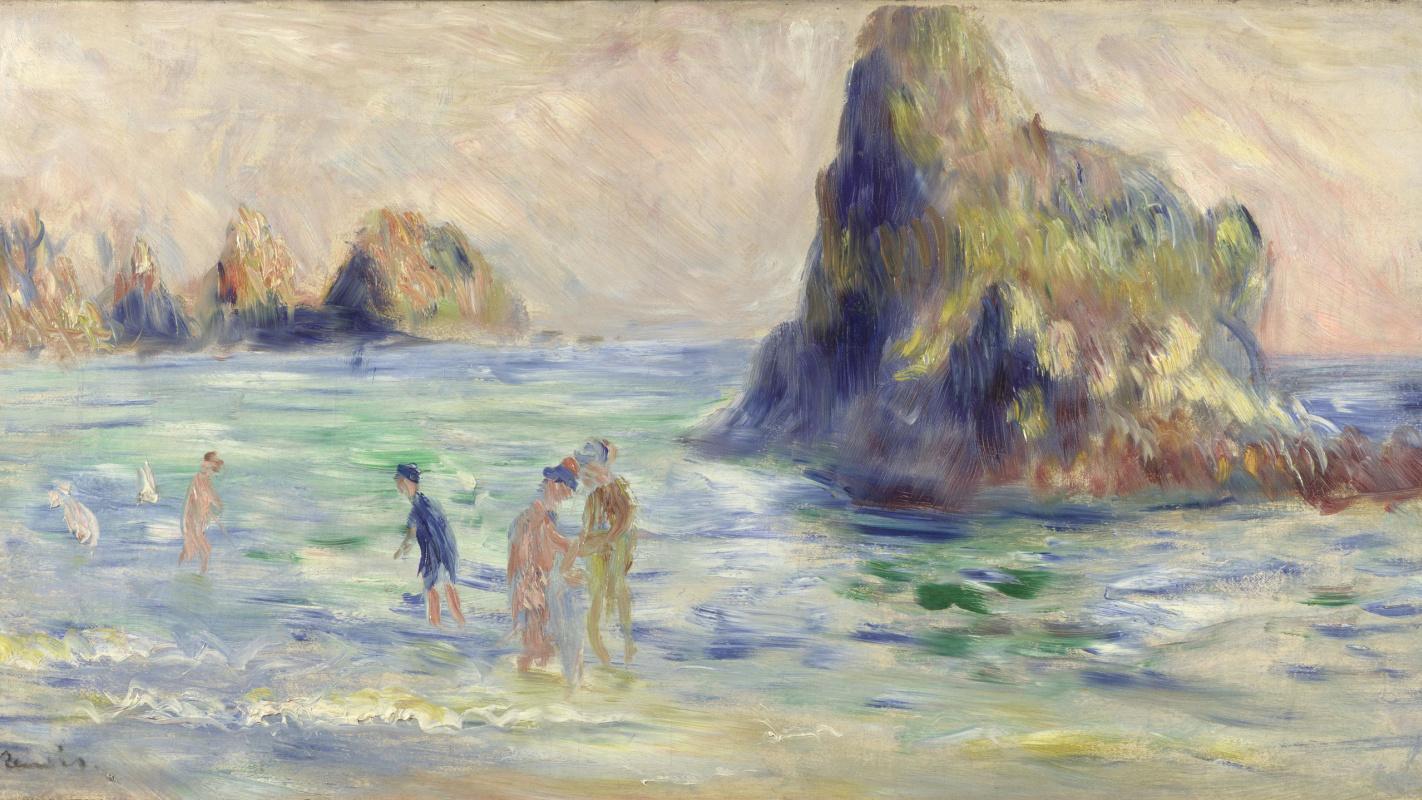 Pierre-Auguste Renoir. Rocks in Guernsey