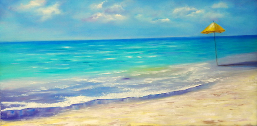 Irel Shulzhenko. Sea and beach