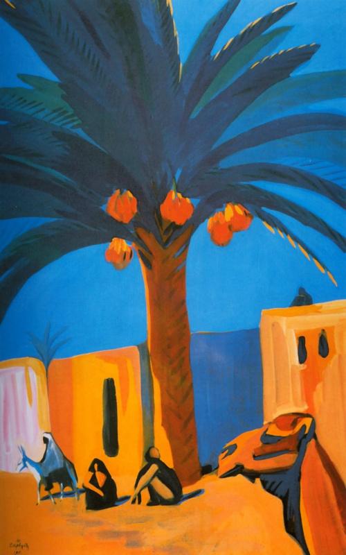 Финиковая пальма. Египет