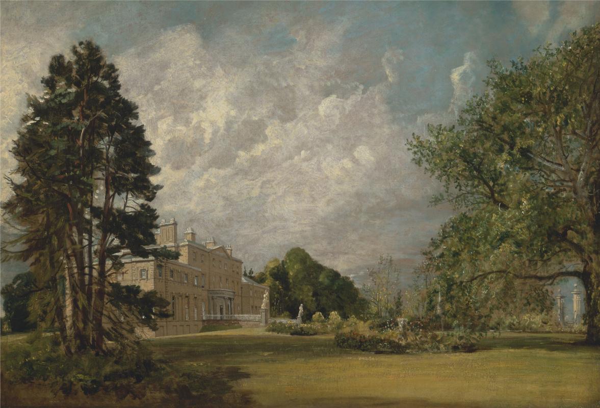 John Constable. Malvern Hall, Warwickshire, England