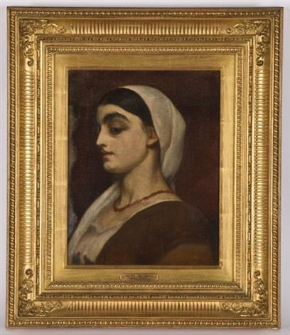 Frederic Leighton. Portrait of Stella