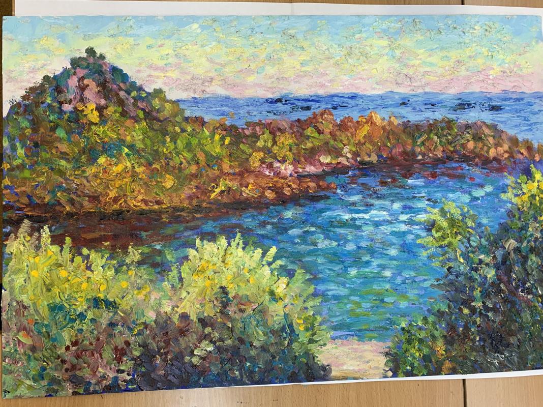 Polina Naigas. Landscape