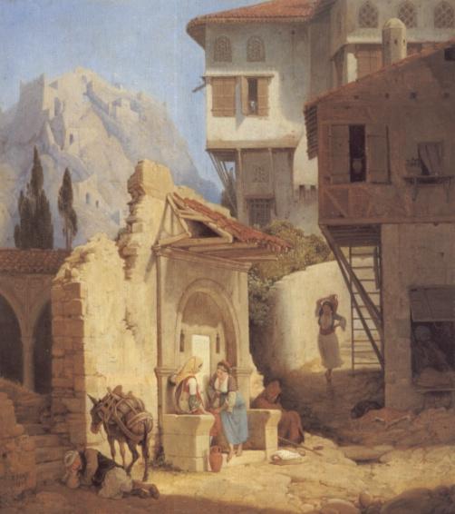 Петер фон Гесс. Греческая крестьянка