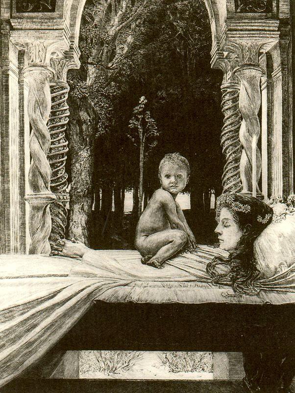Макс Клингер. Мертвая мать