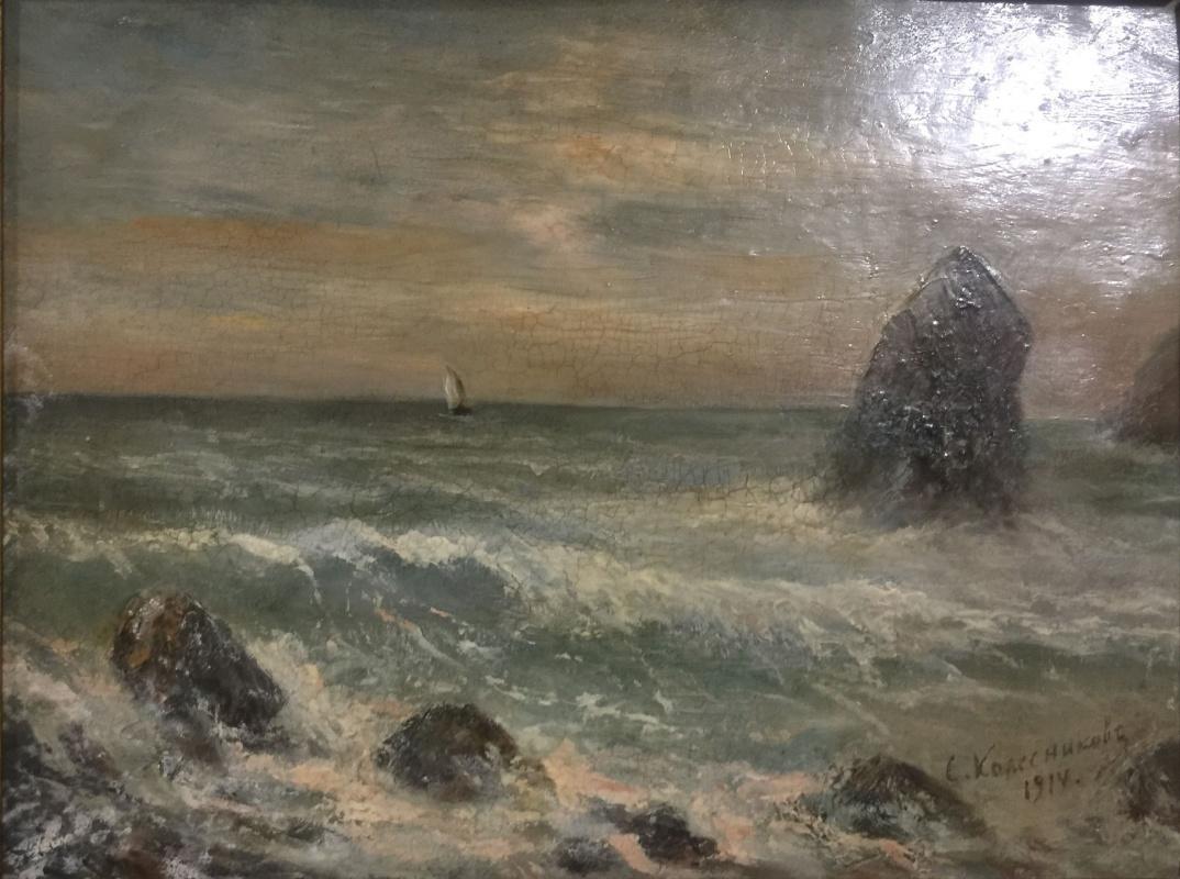 Stepan Fedorovich Kolesnikov (Odessa). Sea...