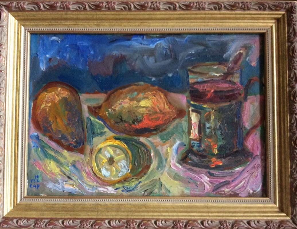 Yuri Minasovich Sarkisov. Lemon and tea