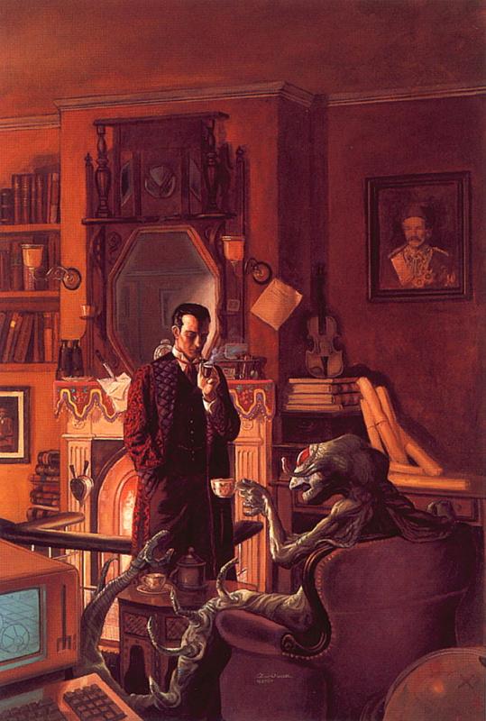 Томас Кидд. Холмс через пространство и время