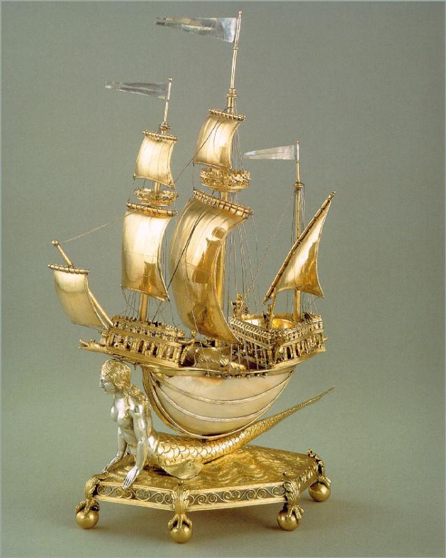 Фламанд. Корабль