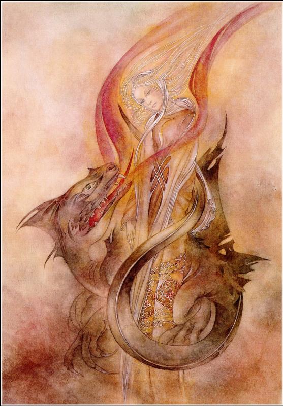 Суламифь Вулфинг. Большой дракон