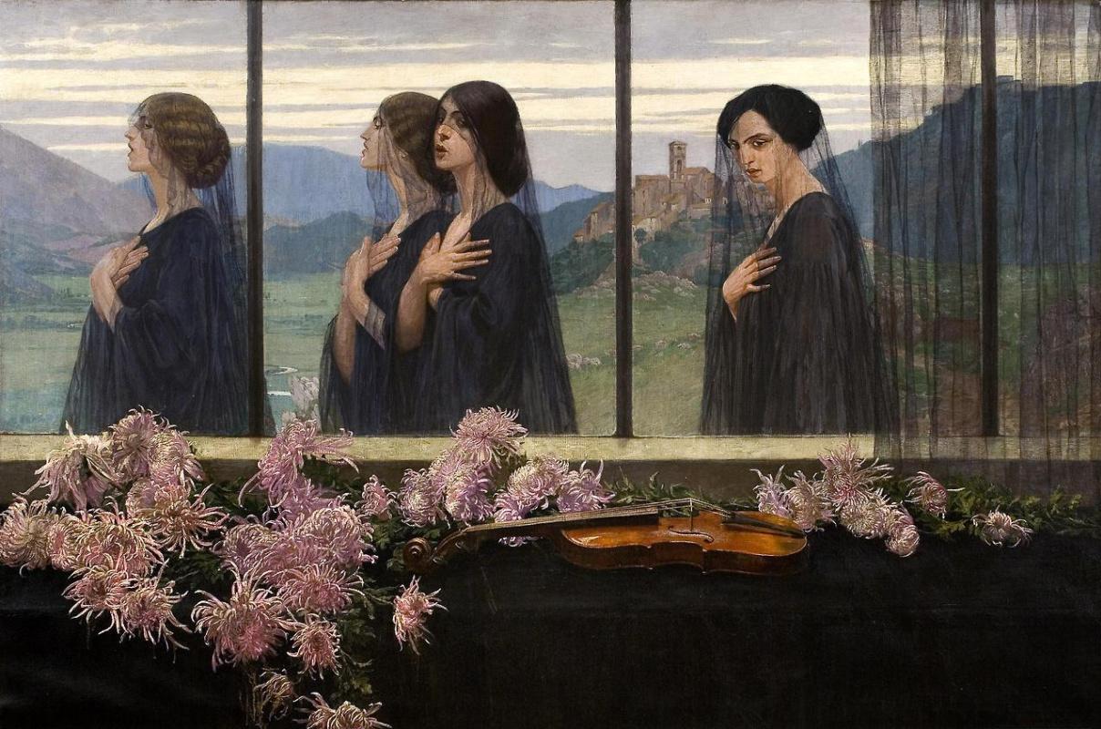 Edward Perch. Four strings violin