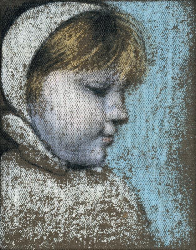 Пабло Пикассо. Первый снег (Портрет Майи)
