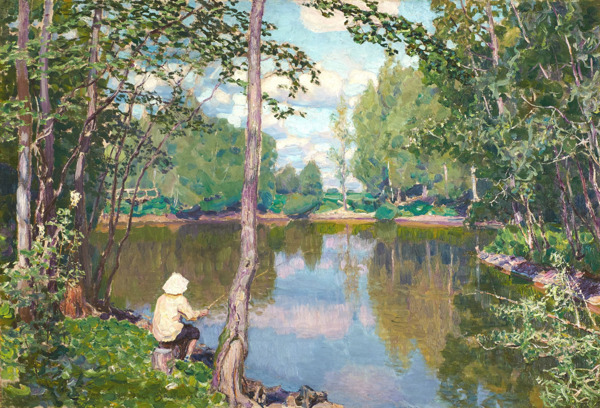 Apollinarius Mikhailovich Vasnetsov. Tsar's pond. Demyanovo
