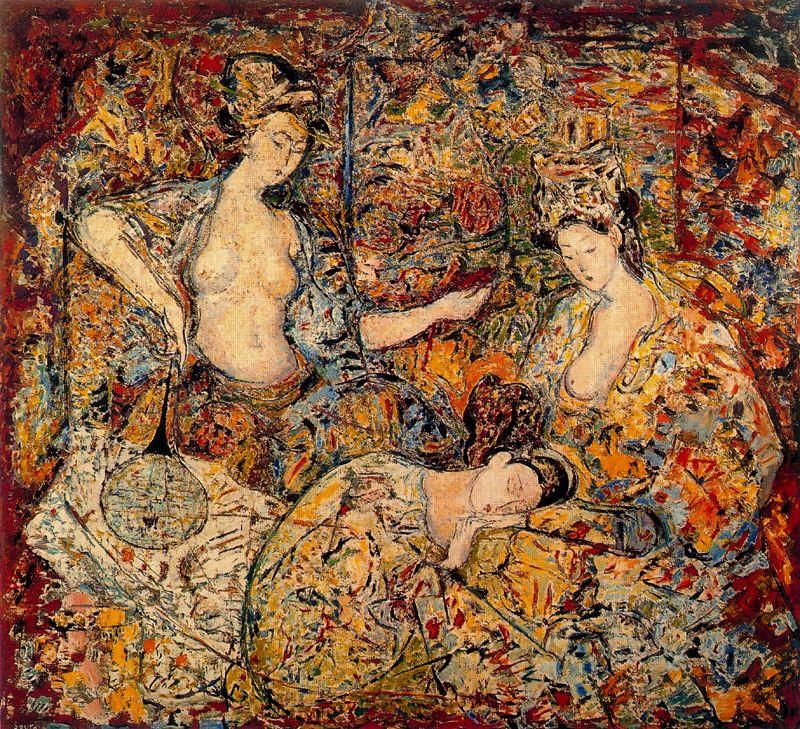 Артуро Соуто. Три девушки