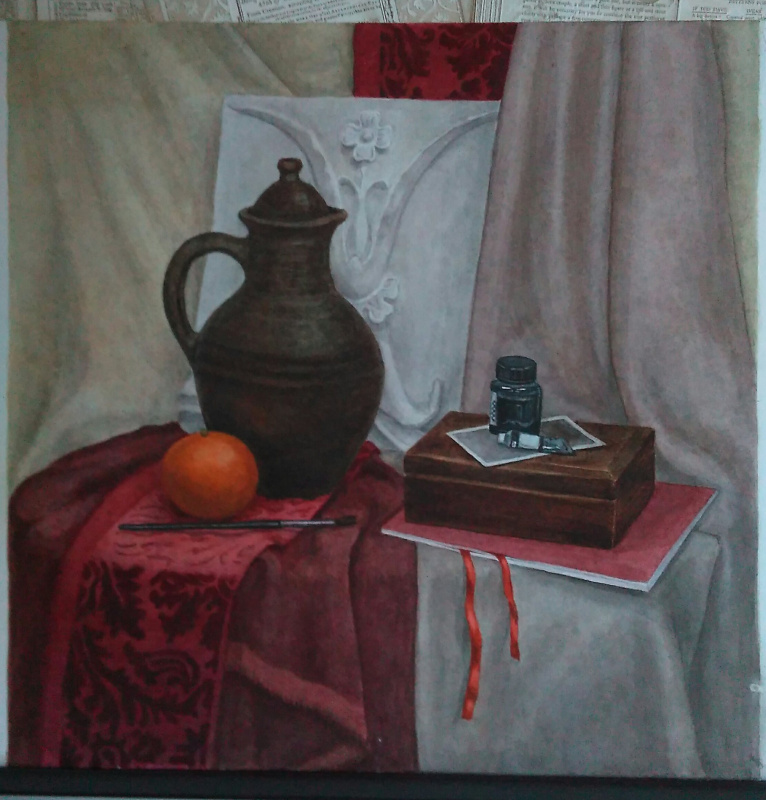 Lyudmila Kachur. Classic still life