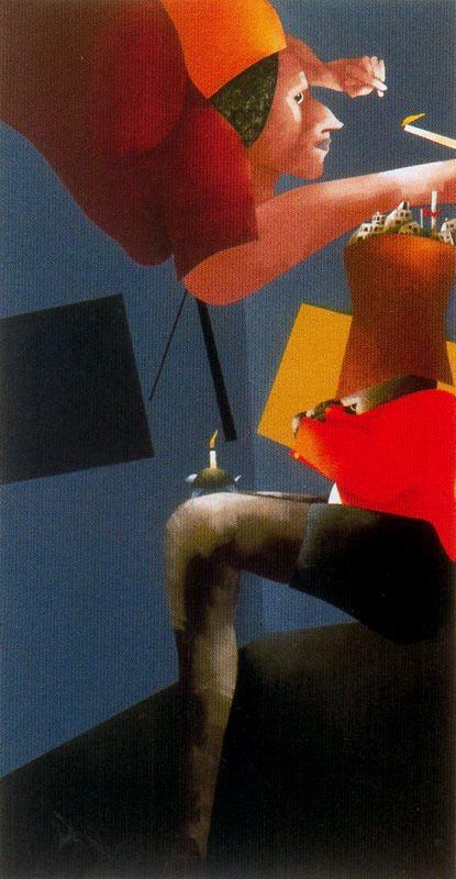 Emilio Tadini. Plot 67
