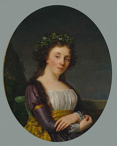 Франсуа-Ксавьер Фабр. Портрет мадам Жубер
