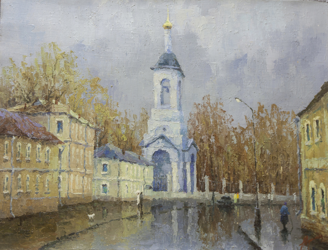 Alexander Vasilievich Yudintsev. After the rain